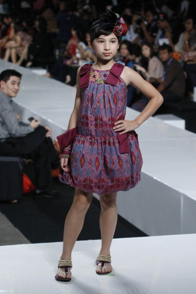 Дитяча колекція від Sebastian Gunawan у Джакарті. Фото Ulet Ifansasti/Getty Images for Jakarta Fashion Week