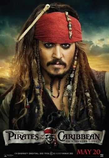 Постер фильма «Пираты Карибского моря: На странных берегах». Фото: Walt Disney Pictures