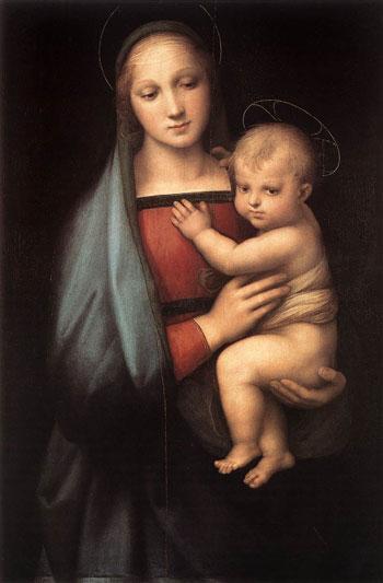 Рафаель. Мадонна Грандука. Палаццо Пітті, Флоренція, Італія. Зображення: Art Renewal Center