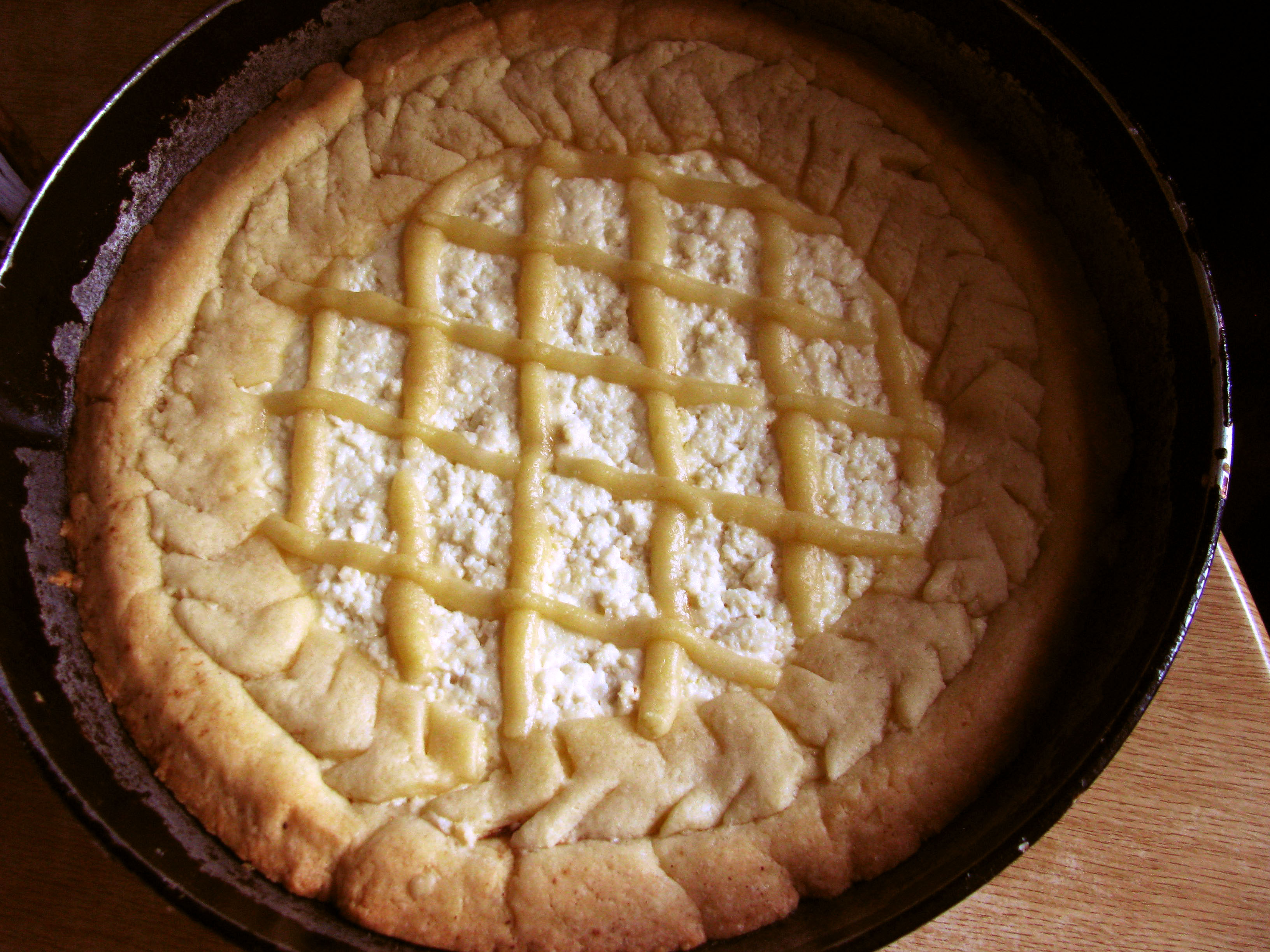 Готовим: пирог «Южный». Фото: Алина Маслакова/The Epoch Times Украина