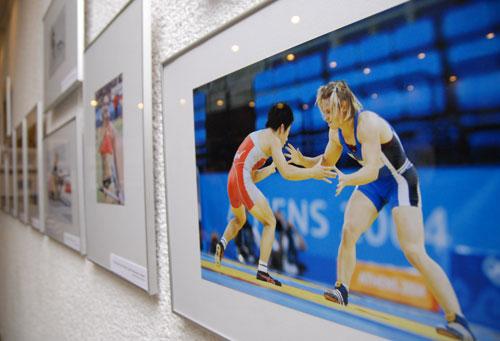 Фотовиставка 'Спортивні миттєвості-2007'. Фото: Володимир Бородін/Велика Епоха