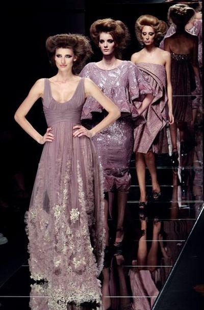 Витончена й елегантна колекція від Elie Saab на Тижні високої моди в Парижі. Фото: AFP