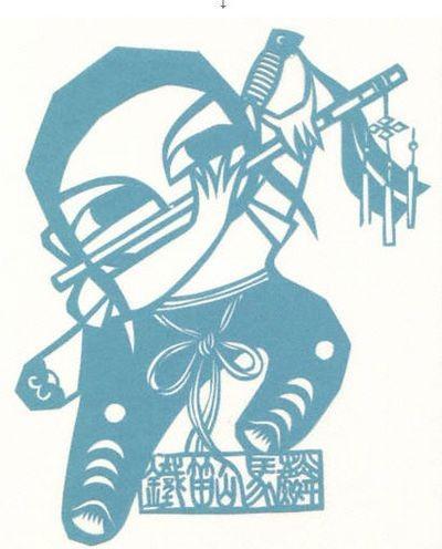 Мистецтво «цзянчжи». Картини, вирізані з паперу. Фото з secretchina.com