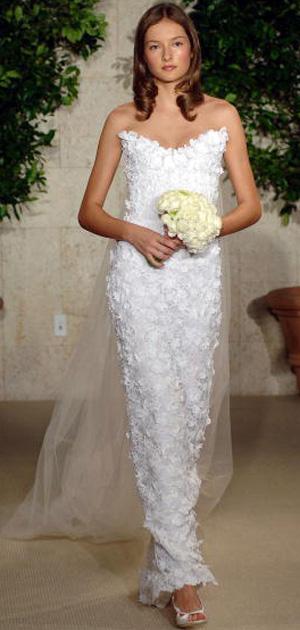 Колекція весільних суконь Oscar De La Renta. Фото: H. Walker/Getty Images