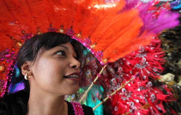 Підготовка до святкування Карибського карнавалу. Фото: Dan Kitwood/Getty Images