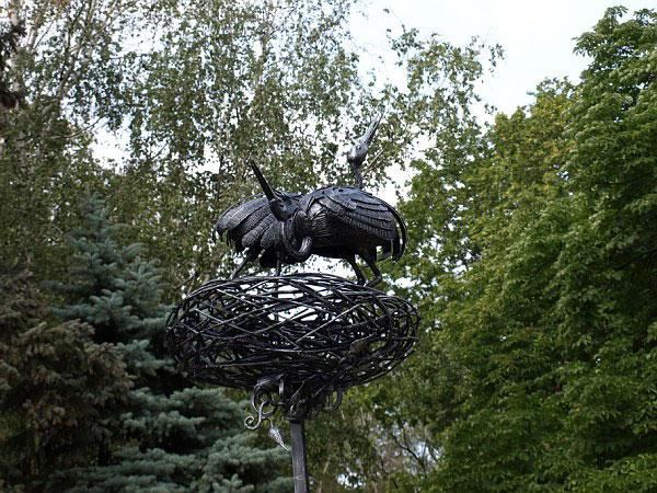 Международный фестиваль кузнецов состоялся в Донецке 9-21-го сентября. Фото: The Epoch Times