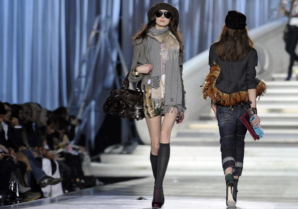 Коллекция Dsquared2. Фото: DAMIEN MEYER/AFP/Getty Images