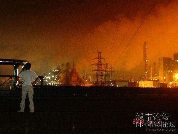 Вибух на етиленовому заводі. Фото з epochtimes.com