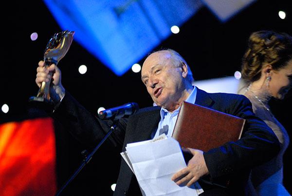 Михайло Жванецький - відомий російський письменник-гуморист отримав спеціальну премію загальнонаціональної програми «Людина року». Фото: Володимир Бородін/The Epoch Times