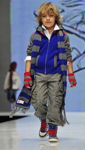 Виставка дитячого одягу сезону осінь-зима 2010/2011в Італії. Фото: AFP