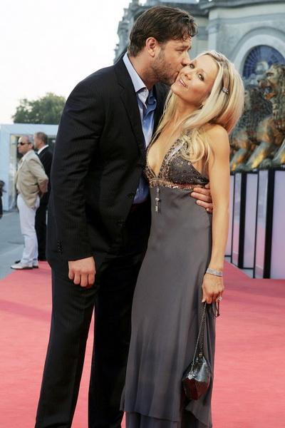 Рассел Кроу з дружиною Даніель Спенсер. Фото: Chris Jackson / Getty Images