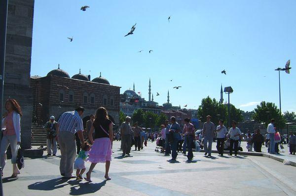 Стамбул - город многолюдный. Фото: Ирина Рудская. The Epoch Times