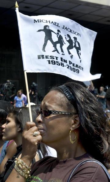 Америка простилась с Майлом Джексоном.Фото:Getty Images
