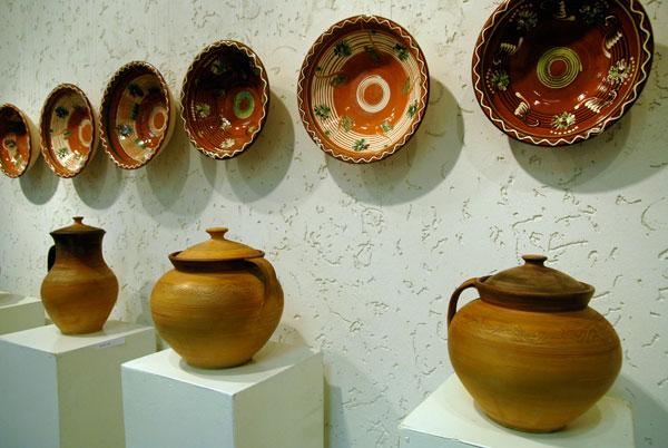 Выставка пасхальных писанок и гончарных изделий открылась в Киеве 4 апреля. Фото: The Epoch Times