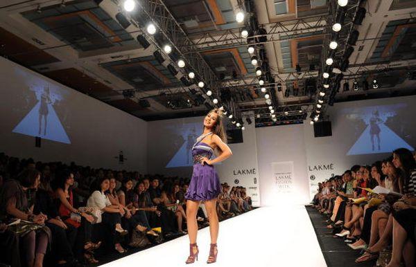 Индийская неделя моды в Мумбае. Фото: Getty Images