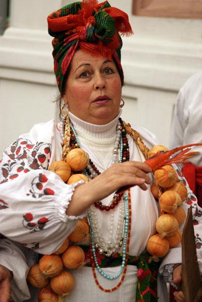 Театрализованная традиционная украинская свадьба в Киеве в Музее гетманства. Фото: Владимир Бородин/The Epoch Times