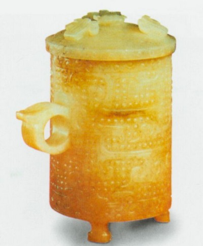 Чаша. Висота 12,3 см. Династія Східна Хань. Фото з aboluowang.com