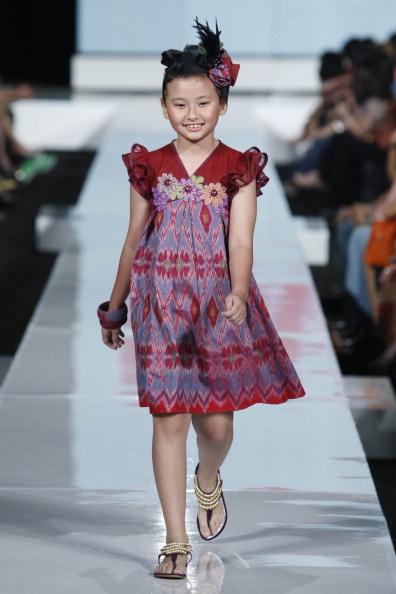 Дитяча колекція від Sebastian Gunawan у Джакарті. Фото Ulet Ifansasti/Getty Images for Jakarta Fashion Week
