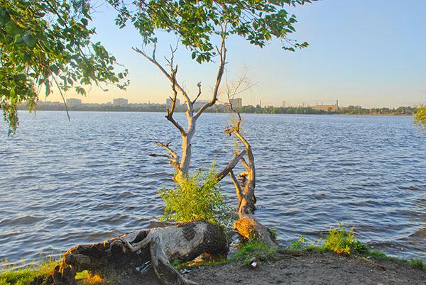 Береги Монастирського острова. Фото: Олена Колодіна/The Epoch Times Україна