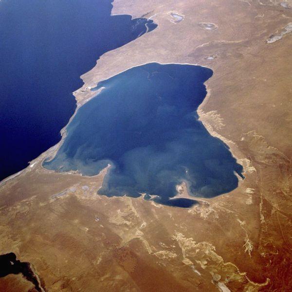 Каспійське море — найбільше озеро у світі