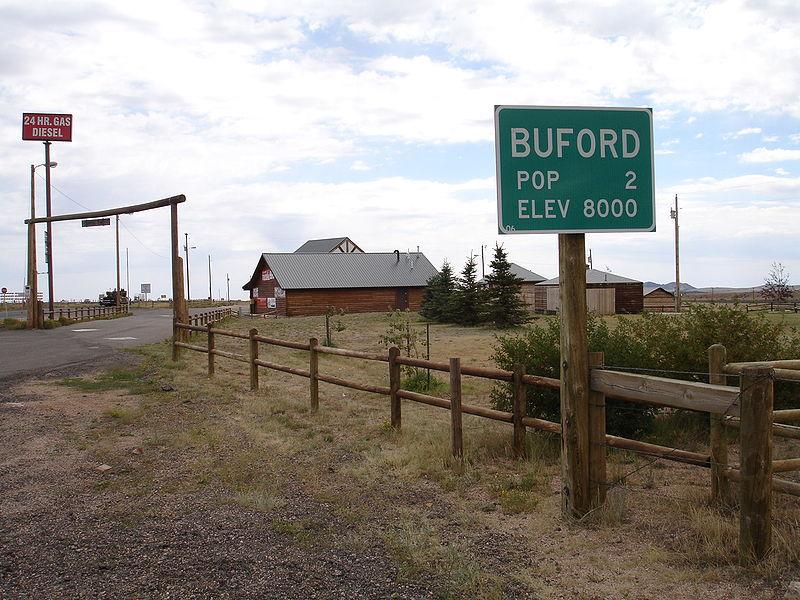 Буфорд — найменше місто у світі