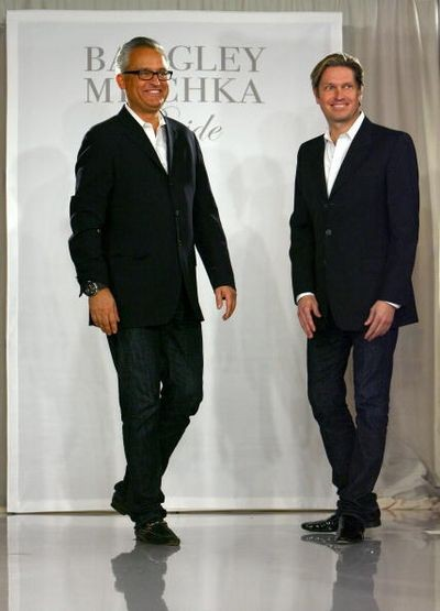 Дизайнеры Марк Багдли (Mark Badgley) и Джеймс Мишка (James Mischka). фото:Getty Images