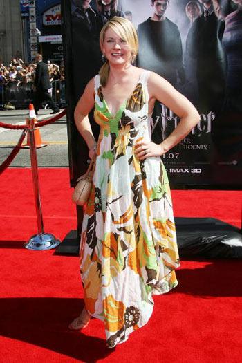 Актриса Мелісса Джоан Харт (Melissa Joan Hart) відвідала прем'єру фільму «Гарі Поттер і Орден Фенікса», яка відбулася в Голлівуді 8 липня. Фото: Frederick M. Brown/Getty Images