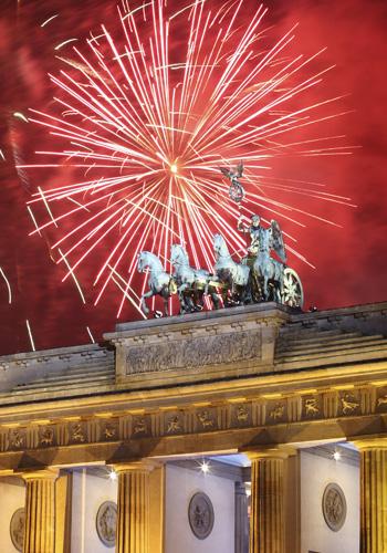 Бранденбургские ворота, Берлин. Фото: Andreas Rentz/Getty Images
