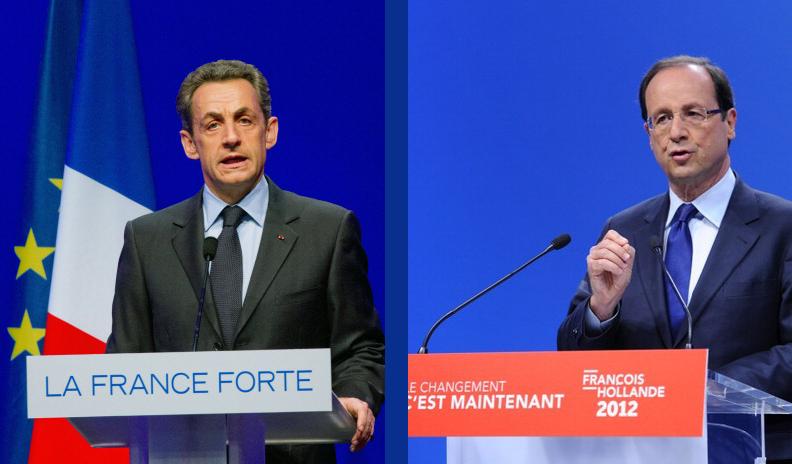 Саркози и Олланд