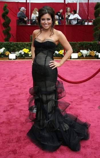 Телеведущая Бобби Томас (Bobbie Thomas) посетила церемонию вручения Премии 'Оскар' в Голливуде Фото: Frazer Harrison/Getty Images