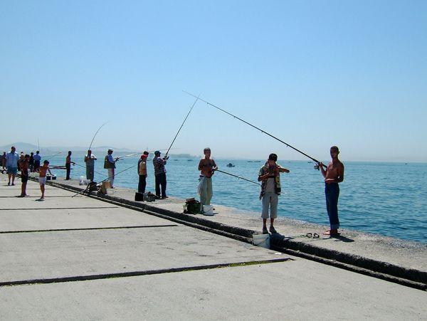 Мраморное море. Рыбаки. Фото: Ирина Рудская. The Epoch Times