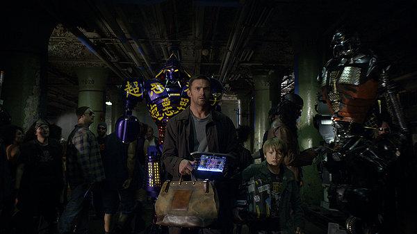Кадр из фильма «Живая сталь»