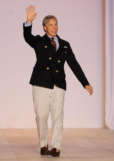 Колекція від Tommy Hilfiger 'Весна 2010'. Фото: STAN Honda/afp/getty Images