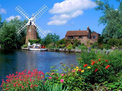 Краєвиди Англії. Фото: fotoart.org.ua