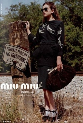 Тайл Олена-Роуз Блондо на сторінках журналу Vogue Paris. Фото: fashionising.com