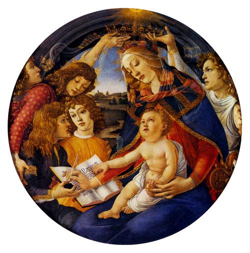 Сандро Ботічеллі. Мадонна Магніфікат. Приватна колекція. Зображення: Art Renewal Center