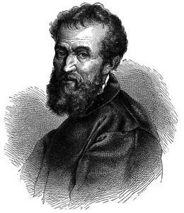 Мікеланджело Буонаротті портрет