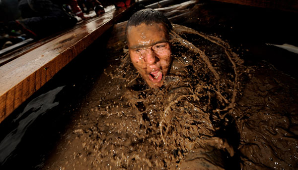 Tough Guy Challenge, січень, 2010 р. Фото: Michael Regan/ Getty Images