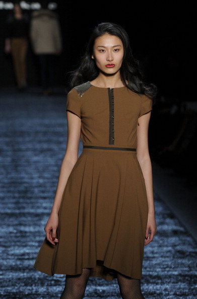 Колекція від Eran Elfassy й Elisa Dahan на Mercedes-Benz Fashion Week. Фото: Frazer Harrison/Getty Images for IMG