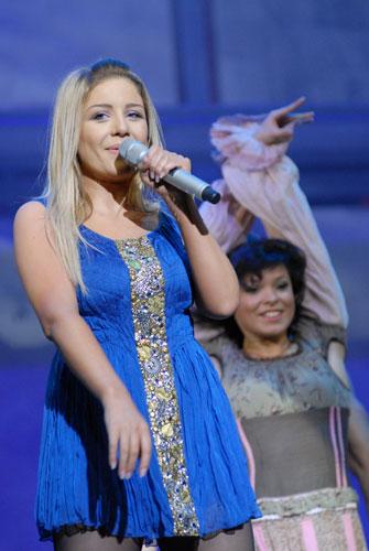 Тіна Кароль на благодійному концерті «SOSстраданіє». Фото: Володимир Бородін/Велика Епоха