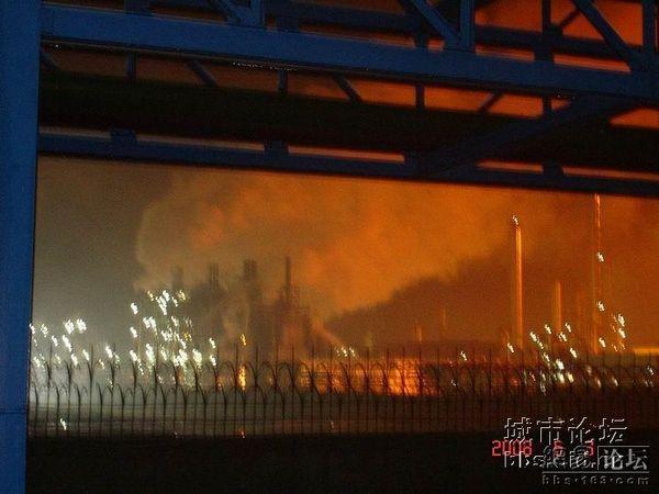 Взрыв на этиленовом заводе. Фото с epochtimes.com