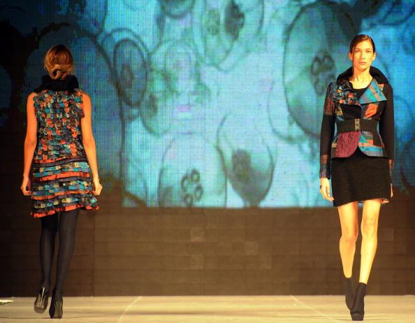 Колекція від колумбійського дизайнера Mabel Palacio. Фото: RODRIGO Arangua/afp/getty Images