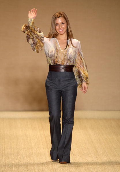 Дизайнер Monique Lhuillier неделе моды Mercedes Benz в Нью-Йорке. Фото: Scott Gries/Getty Images