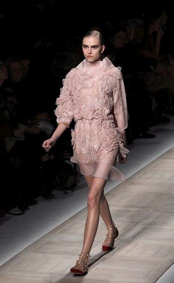 Колекція Valentino на Тижні моди в Парижі. Фото: AFP