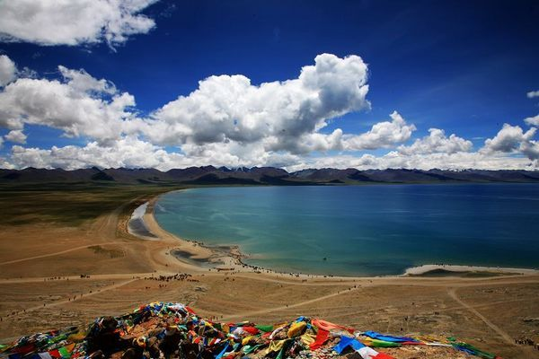 Озеро Намуцо. Фото с aboluowang.com