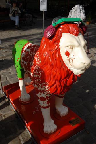 Арт-фестиваль «Парад львов» во Львове. Фото: Владимир Бородин/Великая Эпоха