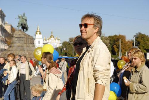 «Праздника хлеба и урожая» на Софиевской площади в Киеве. Фото: Владимир Бородин/Великая Эпоха