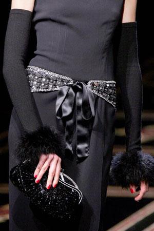 Итальянский дизайнер Валентино (Valentino). Коллекция ready-to-wear осень-зима 2007/2008. Фото: FRANCOIS GUILLOT/AFP/Getty Images