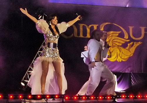 Ані Лорак на VII міжнародному фестивалі «Золота Лілія». Фото: Вікторія Тюріна/Велика Епоха