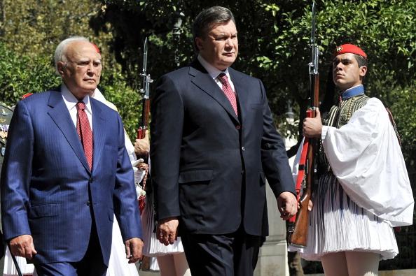 Афинах встретились Президенты Украины и Греции